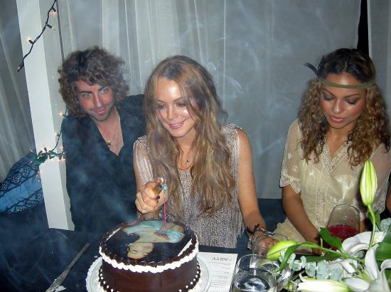 Lindsay's $100,000 Birthday Party