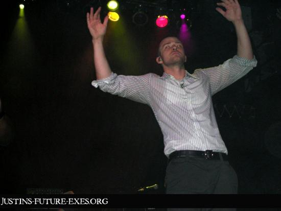 JT Sweats it Up at The House of Blues