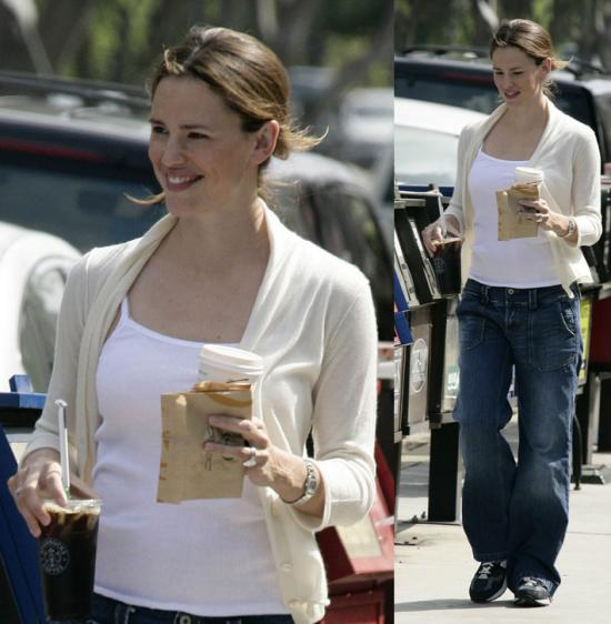 Jen Garner Coffee Run