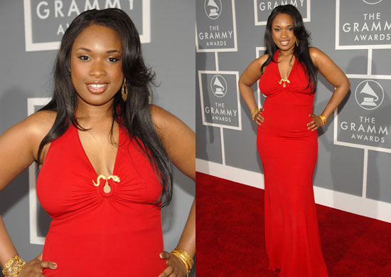 The Grammys Red Carpet: Jennifer Hudson