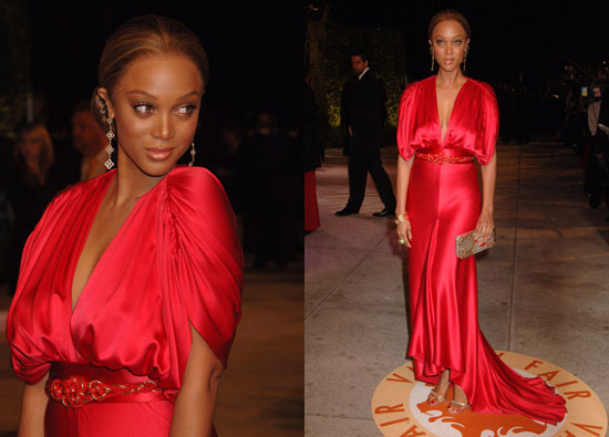 Vanity Fair Oscar Party: Tyra Banks