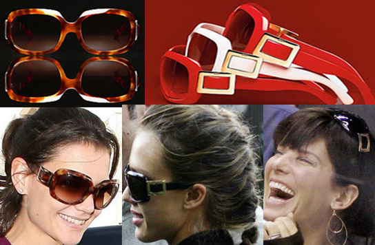 Roger Vivier Smokin' Hot Sunglasses
