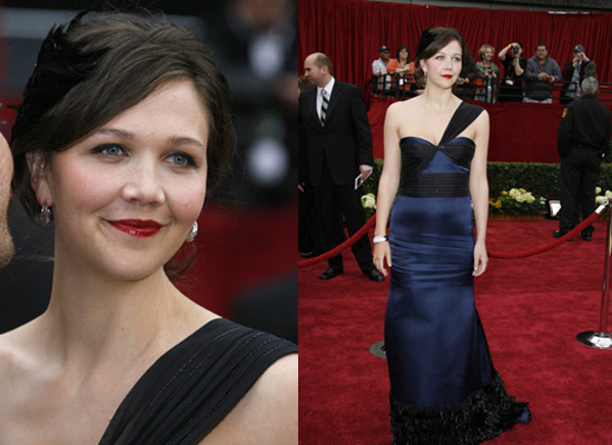Oscars Red Carpet: Maggie Gyllenhaal