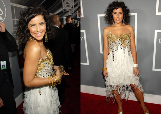 The Grammys Red Carpet: Nelly Furtado