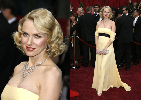Oscars Red Carpet: Naomi Watts