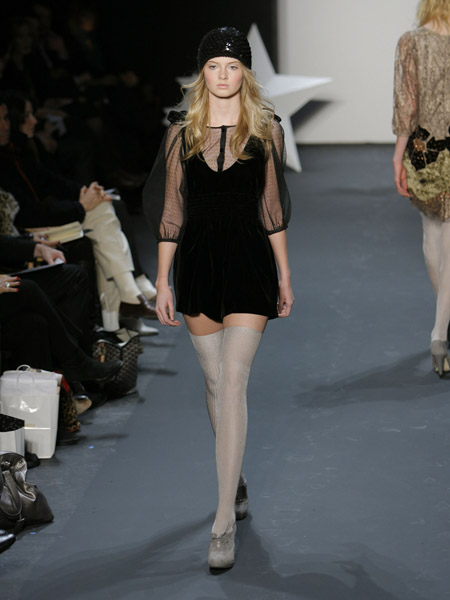 New York Fashion Week, Fall 2007:  Erin Fetherston