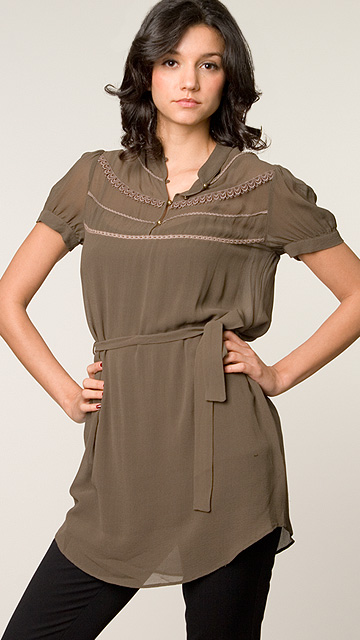 Twelfth Street Lotus Tie Waist Tunic: Love It or Hate It?