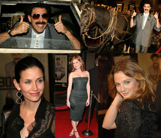 Borat Premieres in Hollywood
