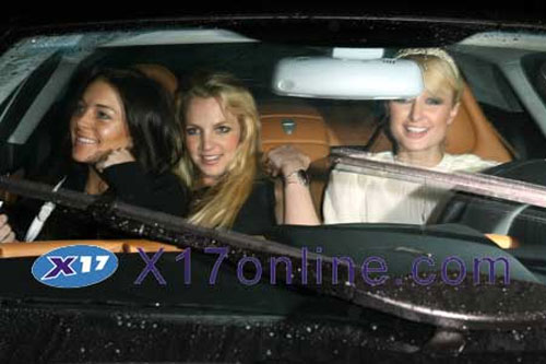 The New Threesome: Lindsay, Brit and Paris