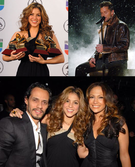 Shakira Shines at the Latin Grammy Awards