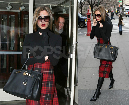 Posh Stays, Well, Posh in Plaid