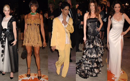 Who Was the Worst Dressed At the Vanity Fair Oscar Party?