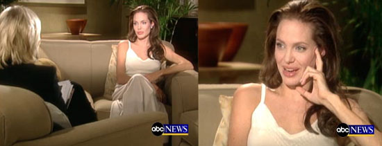 Angelina Not Pregnant, On the Pill