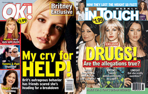 Really? Britney? Drugs?  More Evidence Please