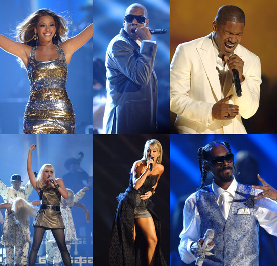 Performers Rock Out at the AMAs
