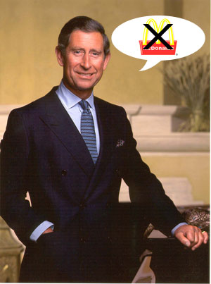 Prince Charles vs. McDonald's: Should McD's Be Banned?