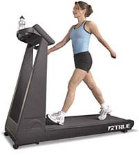 Get it up - your heart rate, that is:  Treadmill Walking