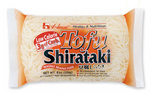 Shirataki: Low Calorie Pasta