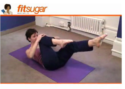 Pilates Video: Single Leg Stretch