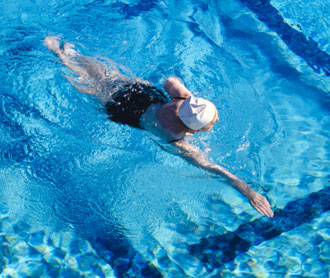 Get it Up - Your Heart Rate, That is: Swimming