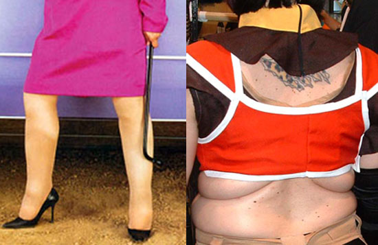 What's Worse: Cankles or Back Fat?