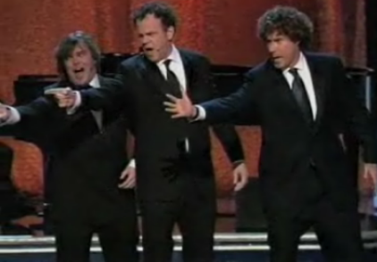 Three Stooges Take The Stage At The Oscars