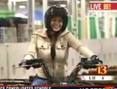 Reporter Gets The Ride Of Her Career