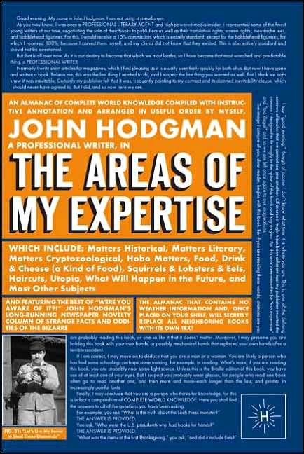 Free Book Download: The Areas of My Expertise