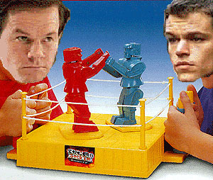 Mark Wahlberg and Matt Damon: Fighters, Not Lovers
