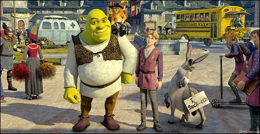 Movie Preview:  Shrek the Third