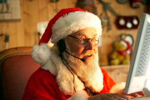 Track Santa With a Quick Phone Call