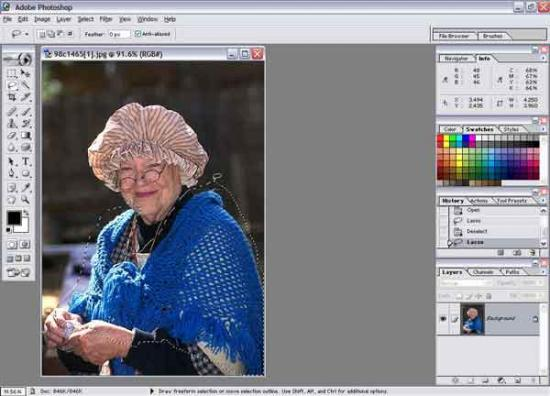 How To Selectively Add Color To A Pic Using Photoshop