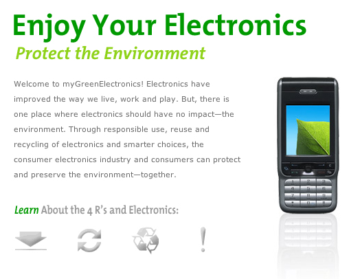 Website Of The Day: MyGreenElectronics.com