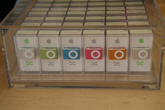 Which iPod Shuffle Color Do You Like Best?