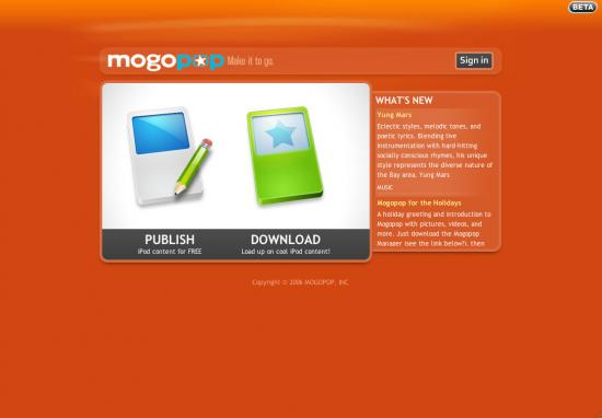 Mogopop: Multimedia Content For Your iPod