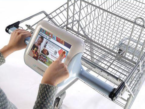 Shopping Carts Get An Upgrade: LCD Screens