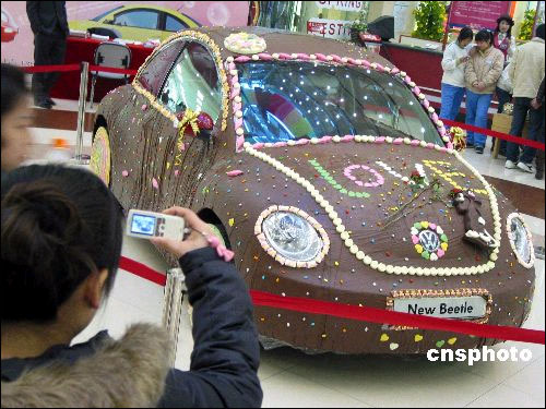 Trend: Chocolate Cars - Volkswagon Beetle