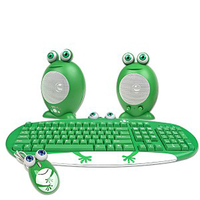 Love It or Leave It? Frog Family PS/2 Keyboard/Mouse/Speaker Set