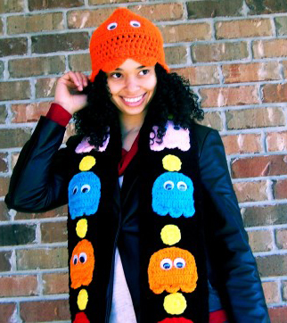 Totally Geeky or Geek Chic? Video Game Scarf