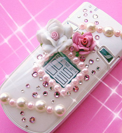 Trend: Icing Your Cell Phone With Candy-Inspired Gems