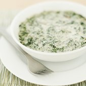 Retro Side: Creamed Spinach