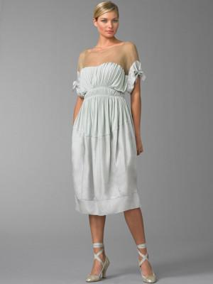 Donna Karan - Illusion Neck Dress - Saks.com