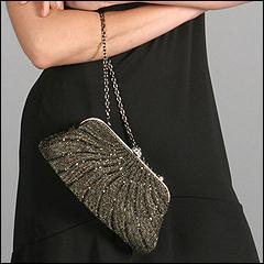 Oscars: Inge Christopher Classic Fully Beaded Clutch (Bronze) - Zappos.com