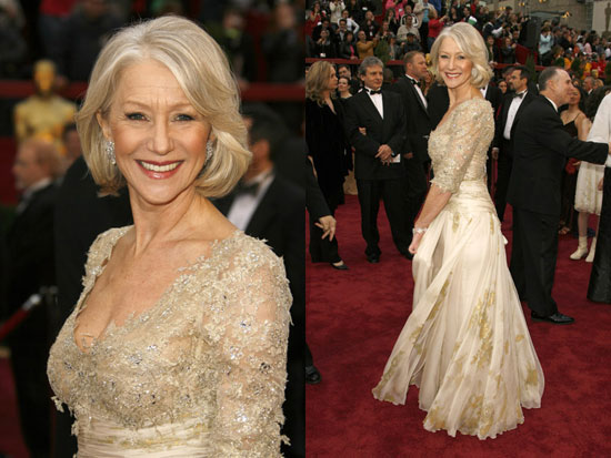 Oscars Red Carpet: Helen Mirren