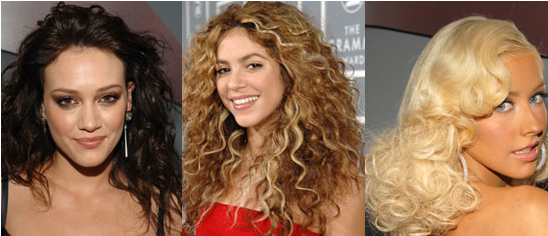The Grammys Red Carpet Beauty: Curly (Frizzy) Hair
