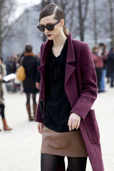 Trends and Fashion Colors in The Week of The Fashion of Paris Fall-Winter 2011 / 2012