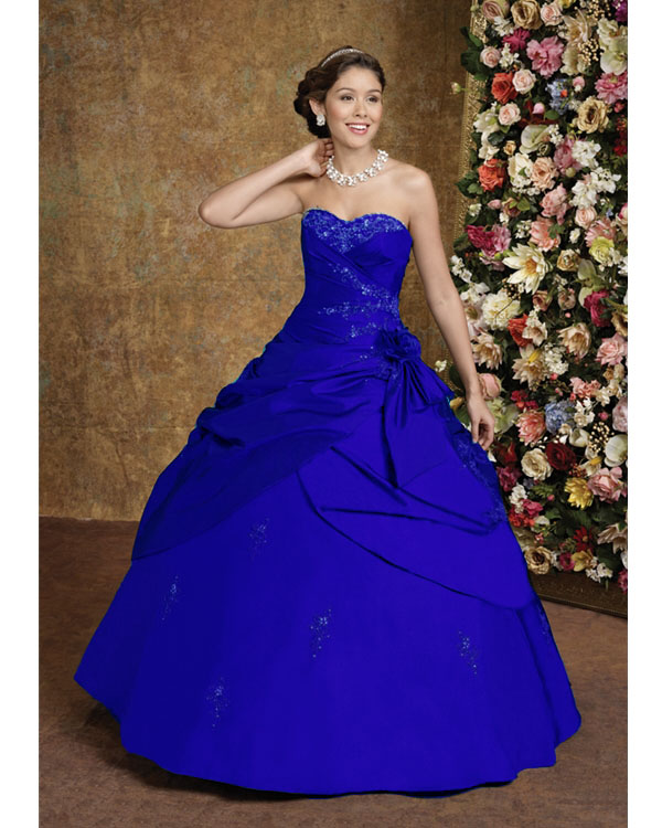 royal blue wedding dresses bridal style and wedding ideas royal blue wedding 7161
