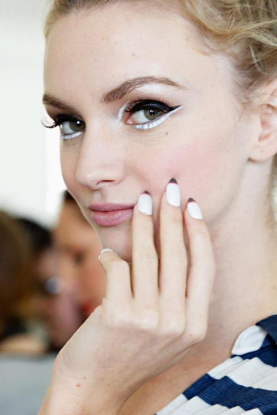 Kate Spade Spring 2014 nails