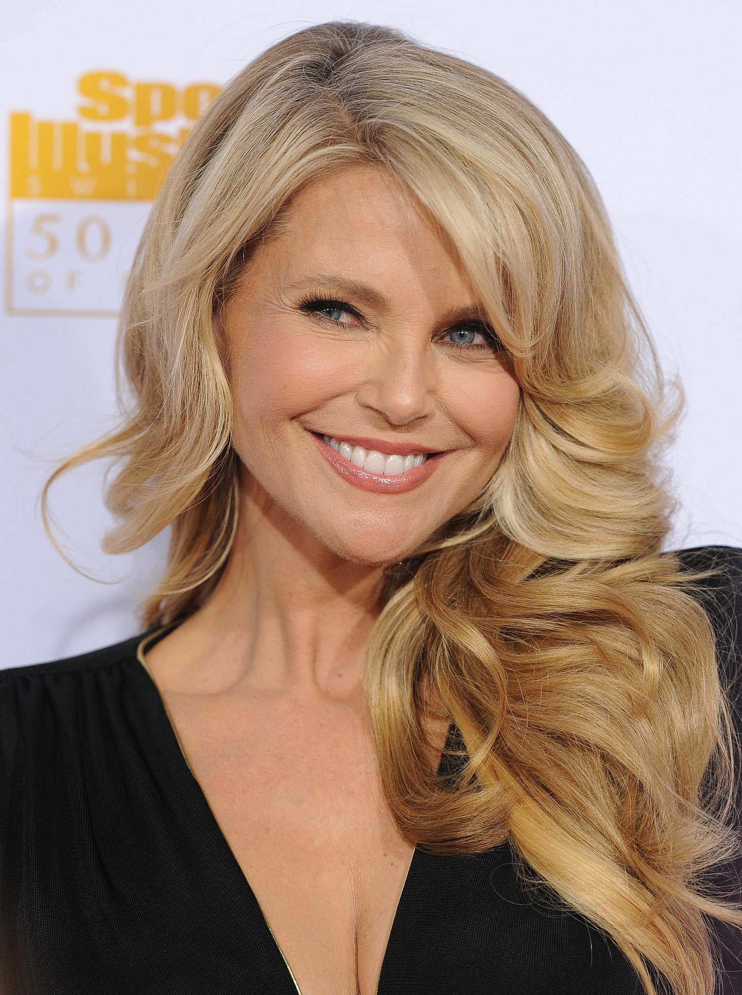 From The Sports Illustrated Swimsuit 50th Anniversary Pink Carpet Celebration On February 17 2014 Christie Brinkley